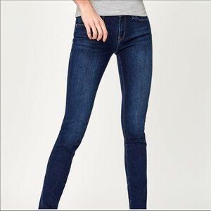 Mavi Alexa midrise skinny jeans